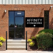 Photograph of the front entrance of Affinity Stoneworks